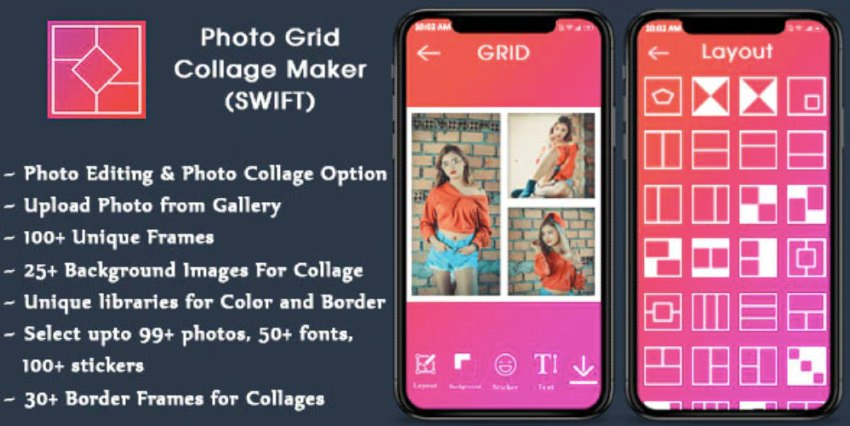 Collage Maker for iOS - Photo Editor