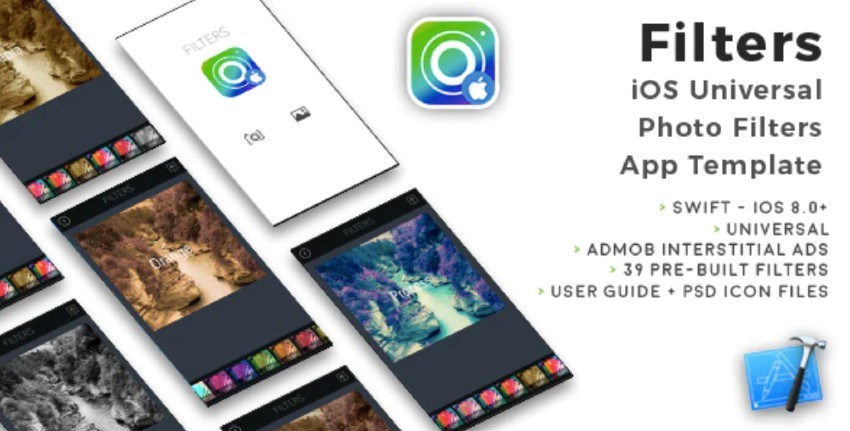 Filters iOS Universal Photo Filters App Template