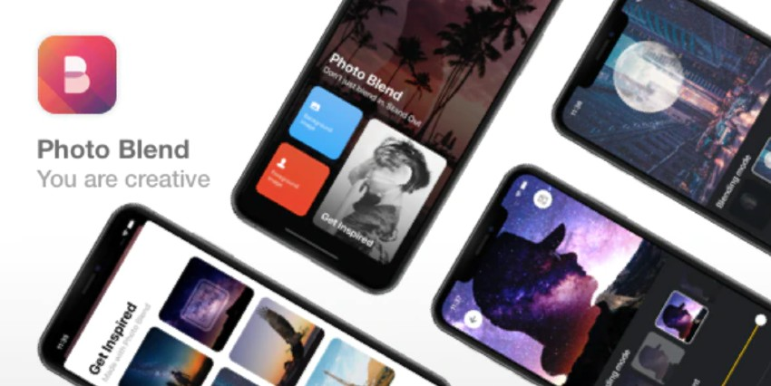 Photo Blend - iOS app template