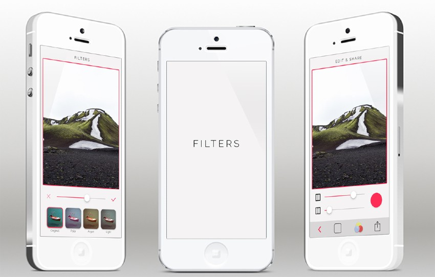 Filters Sample iPhone App Template