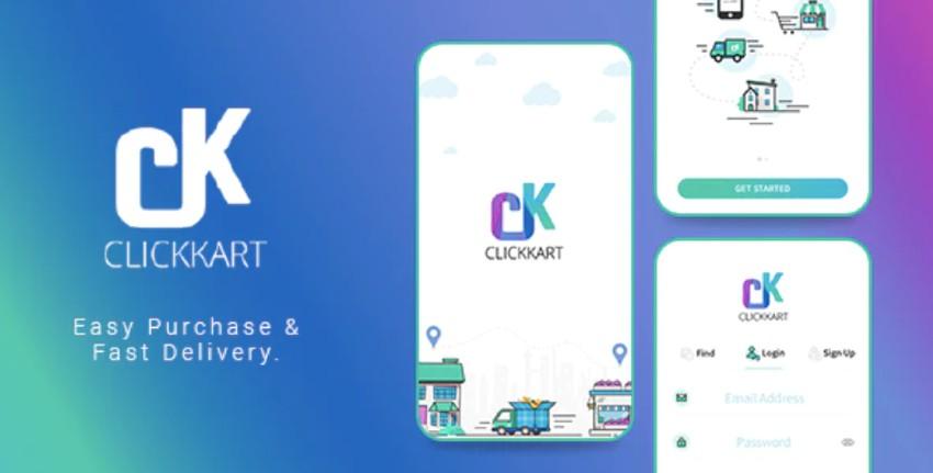 Clickkart - Multi Vendor Shopping Android App