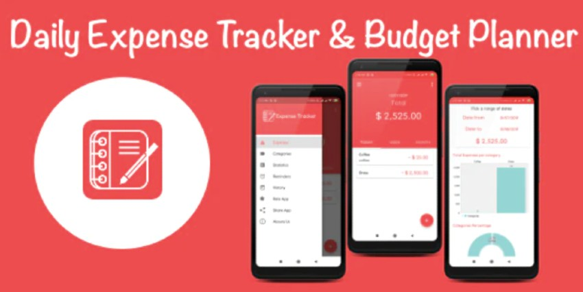 Daily Expense Tracker & Monthly Budget Planner For Android