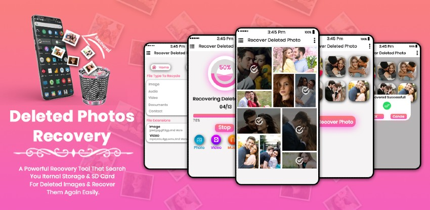 Deleted Photo Recovery  - Android App