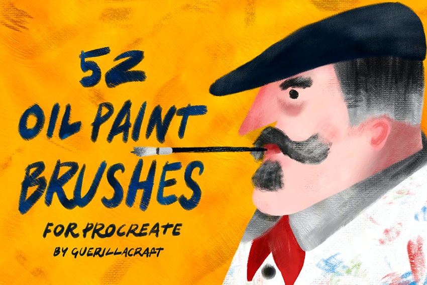 Oil Paint - Procreate Painting Brushes