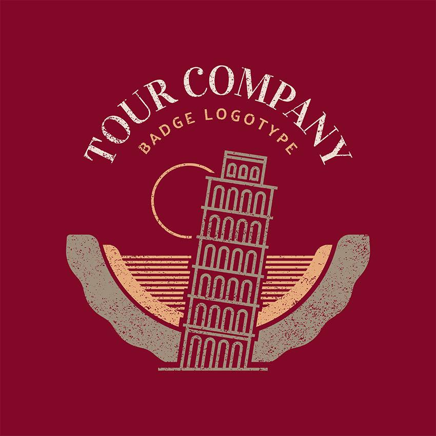 Logo Templates for Trip Sites