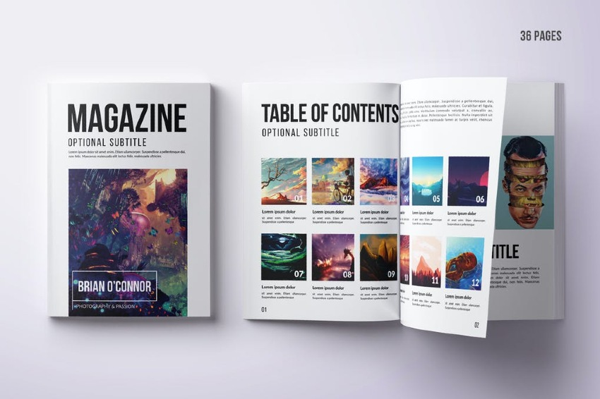 Multipurpose A4 Magazine