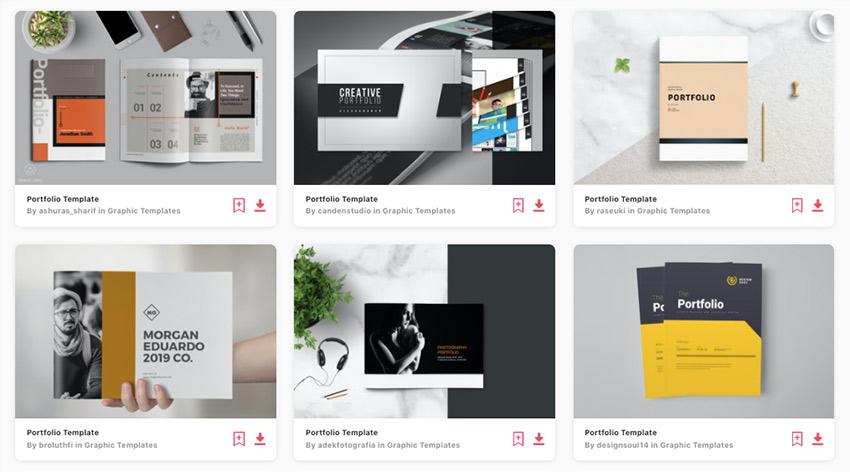 Enjoy unlimited download of premium portfolio templates