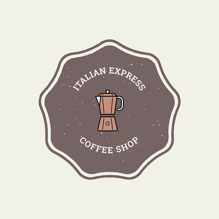Classic Coffee Shop Logo Maker