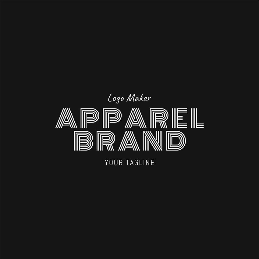 Apparel Brand Logo Design Template