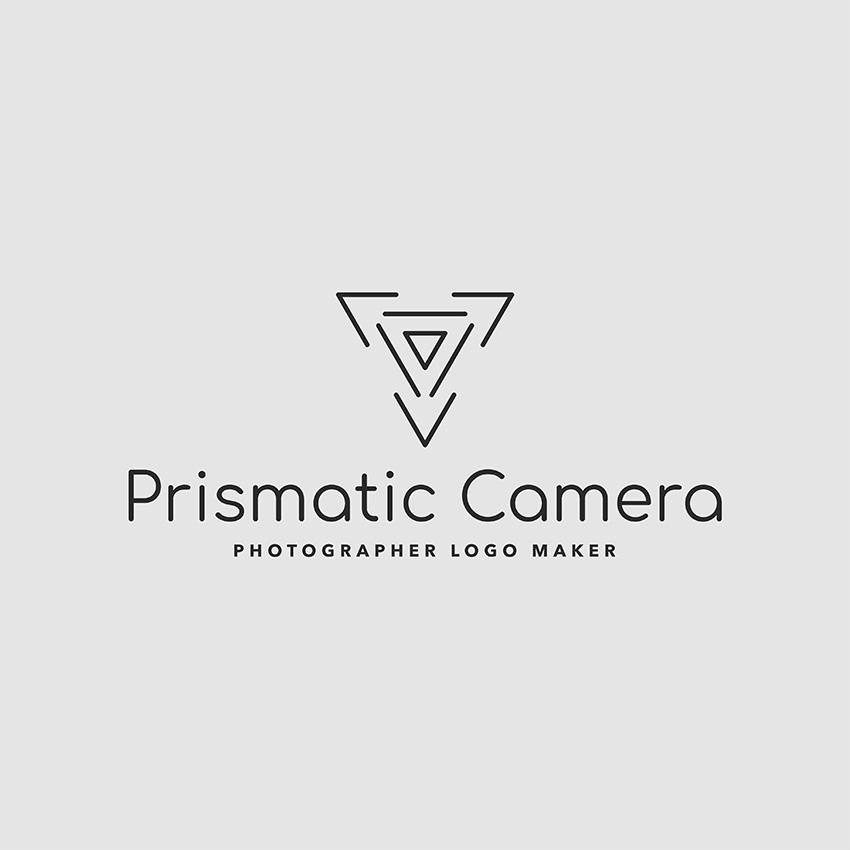 Minimalist Logo Template For a Photo Studio