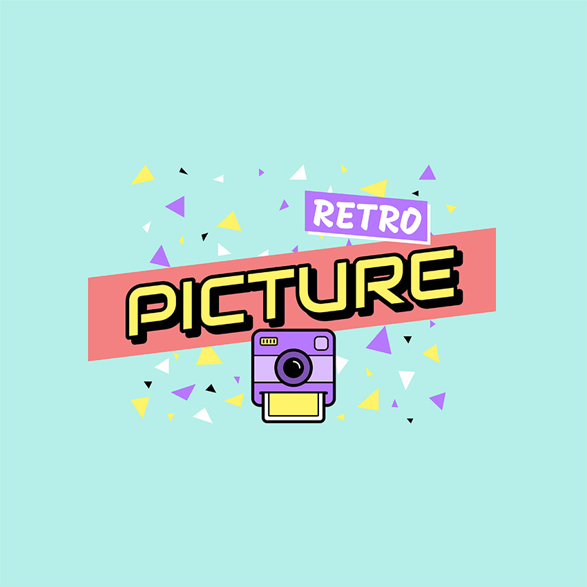 Photography Logo Maker with a Retro Style
