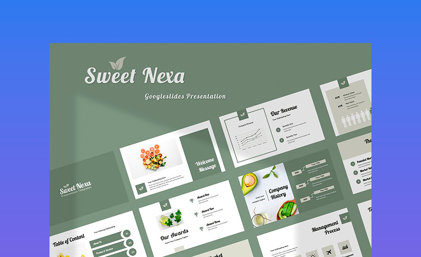 Sweet Nexa Google Slides Presentation