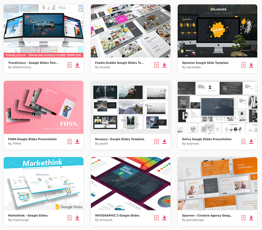 Get unlimited fun backgrounds for Google Slides from Envato Elements.