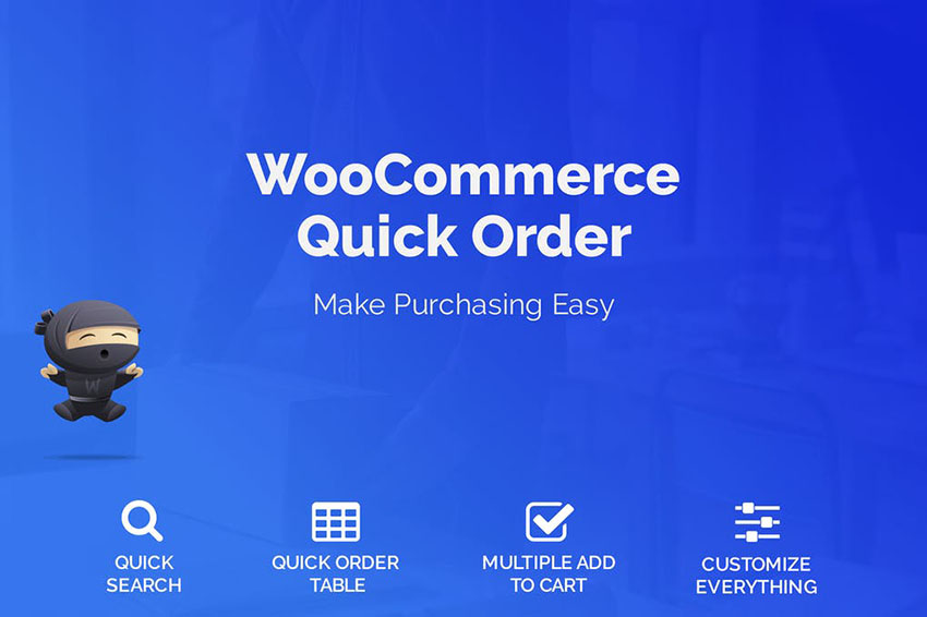 Image of WooCommerce Quick Order
