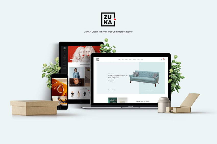 Image of Zuka   Clean, Minimal WooCommerce Theme