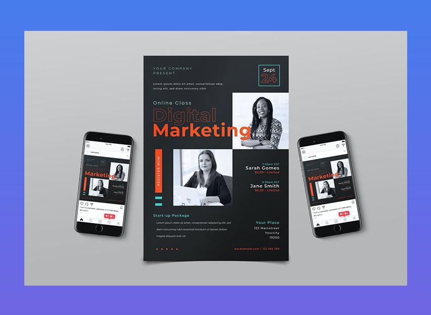 Digital Marketing Flyer Pack