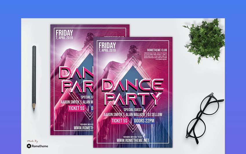 Dance Event Flyer