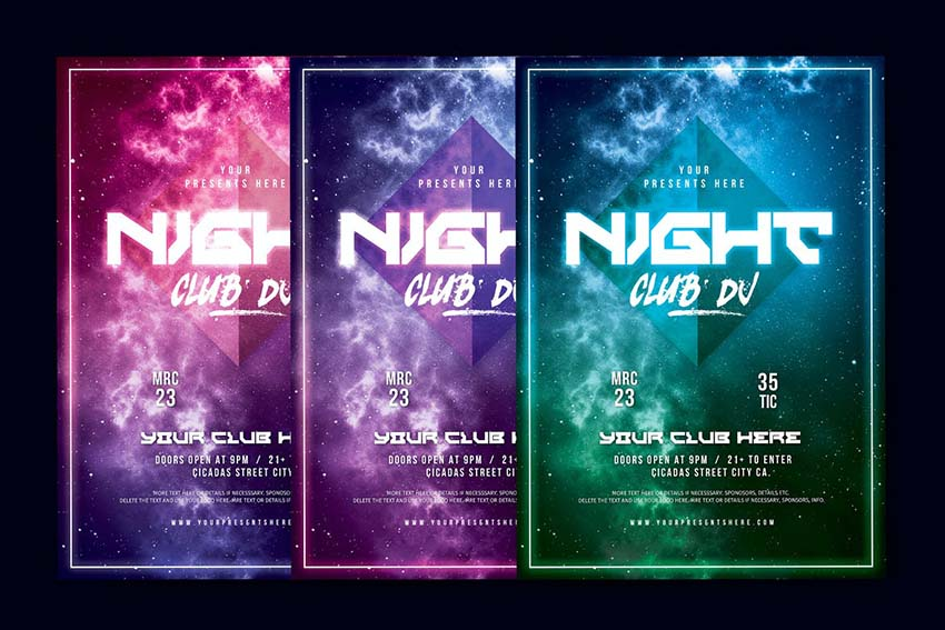 Night Club DJ Flyer