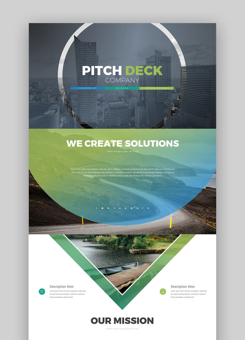 Pitch Deck - Business Proposal PowerPoint Template