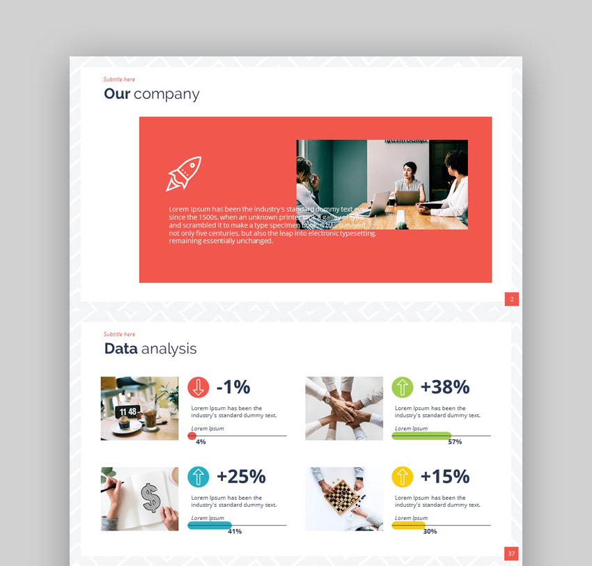 Approach PowerPoint Presentation Template