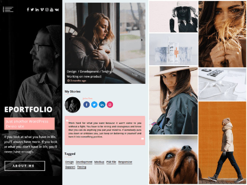 ePortfolio WordPress Theme
