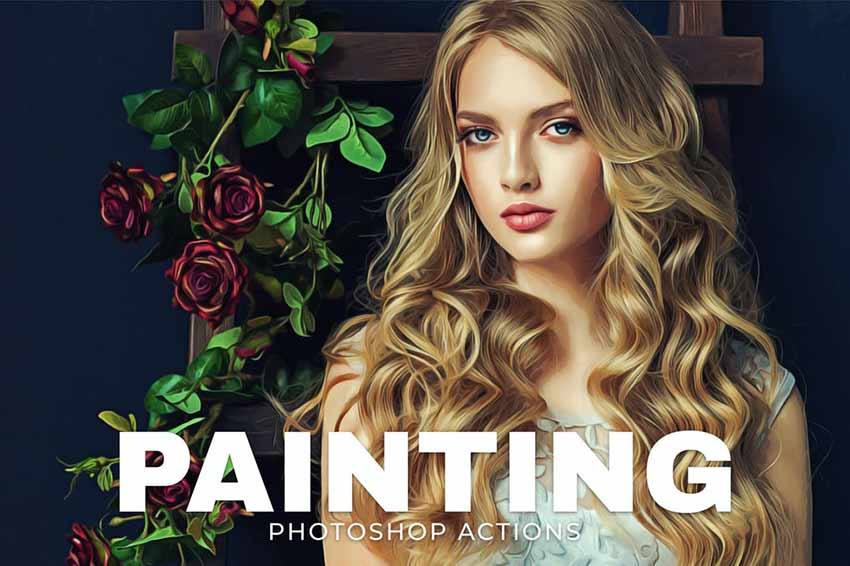 Painting Photoshop Actions