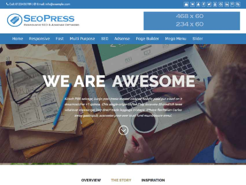 SEOPress free theme