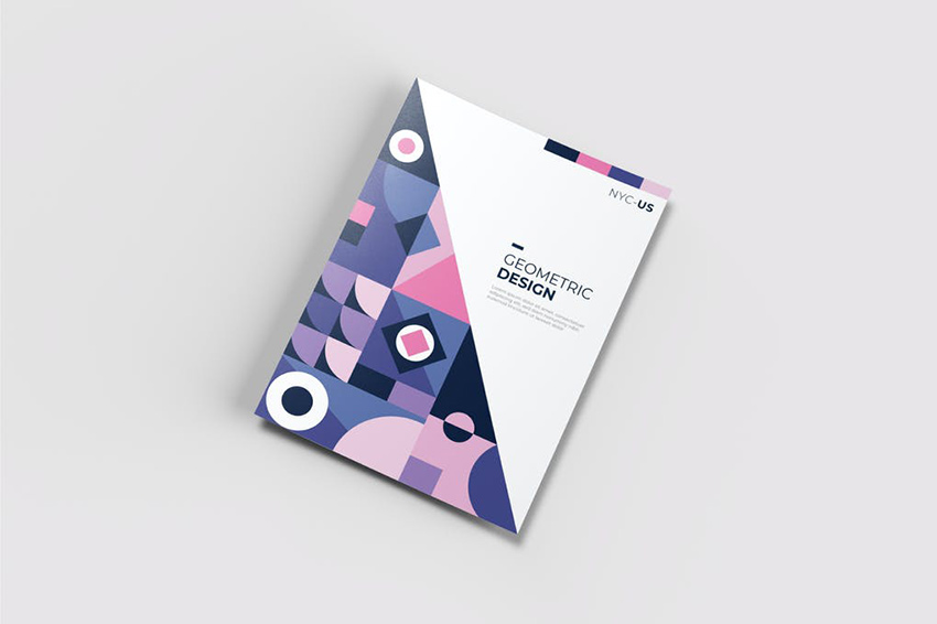 AWR Creative Geometric Flyer