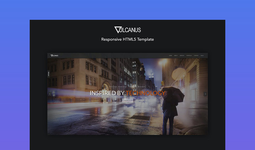 Vulcanus - Versatile Responsive HTML5 Template