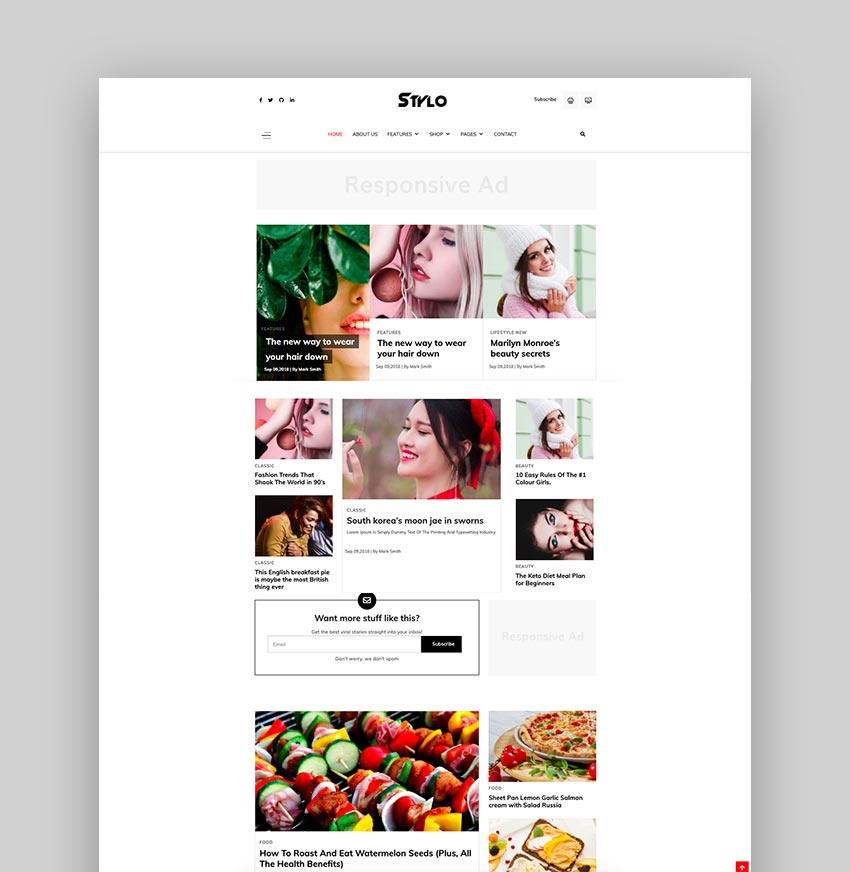 JD Stylo - Fashion Blog  Magazine Joomla Template