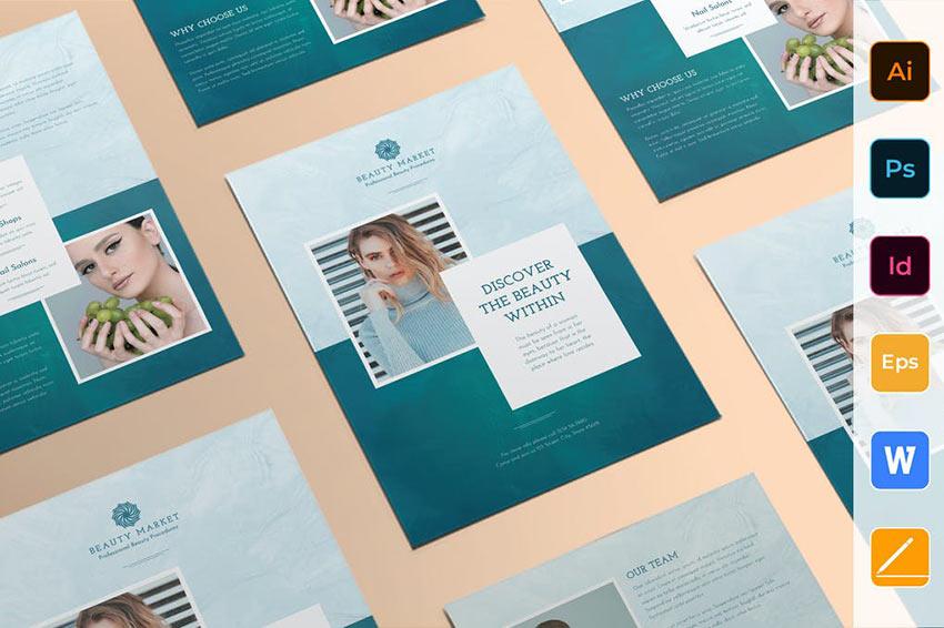 Beauty Market Flyer