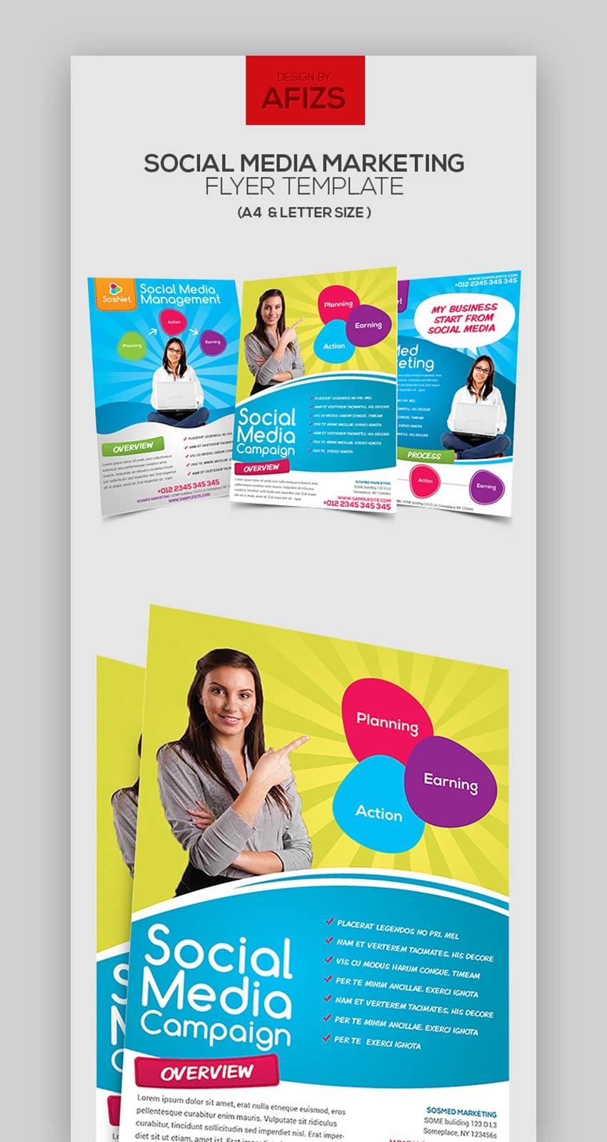 Social Media Marketing Flyer