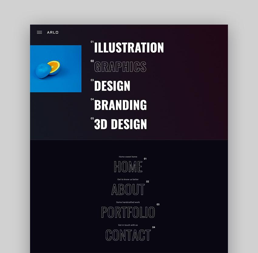 Arlo - Creative Agency WordPress Theme