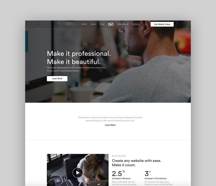 Webify - Creative Agency WordPress Theme