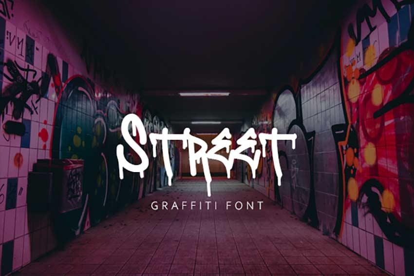 Street Graffiti Font