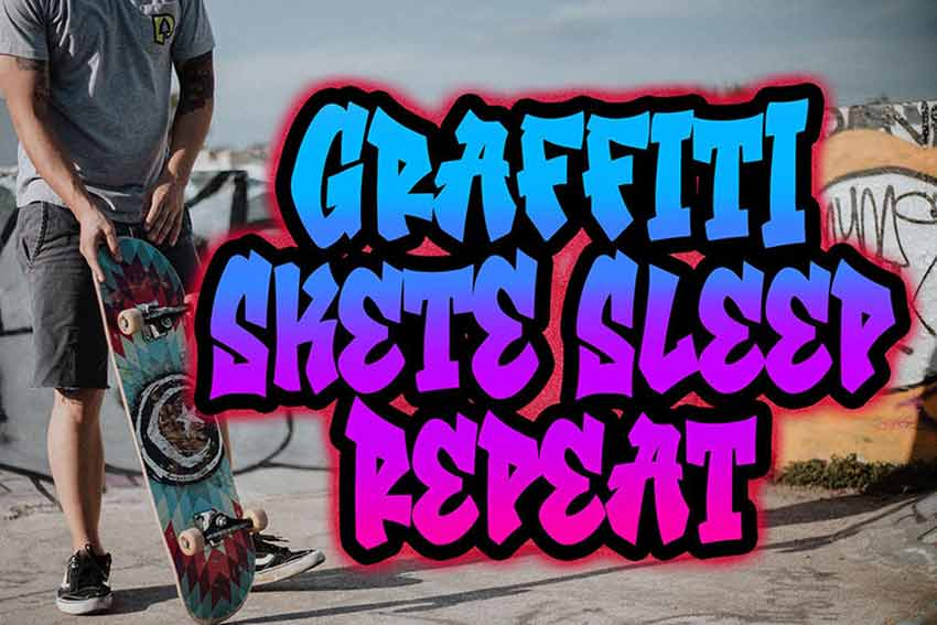 Southsider - Graffiti Typeface