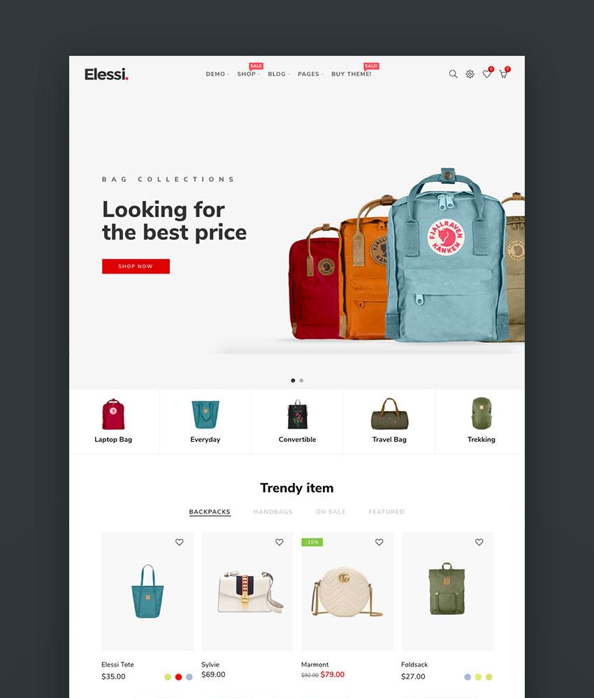 Elessi 20 - Responsive Shopify Theme