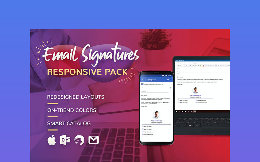 Innovative Email Signatures