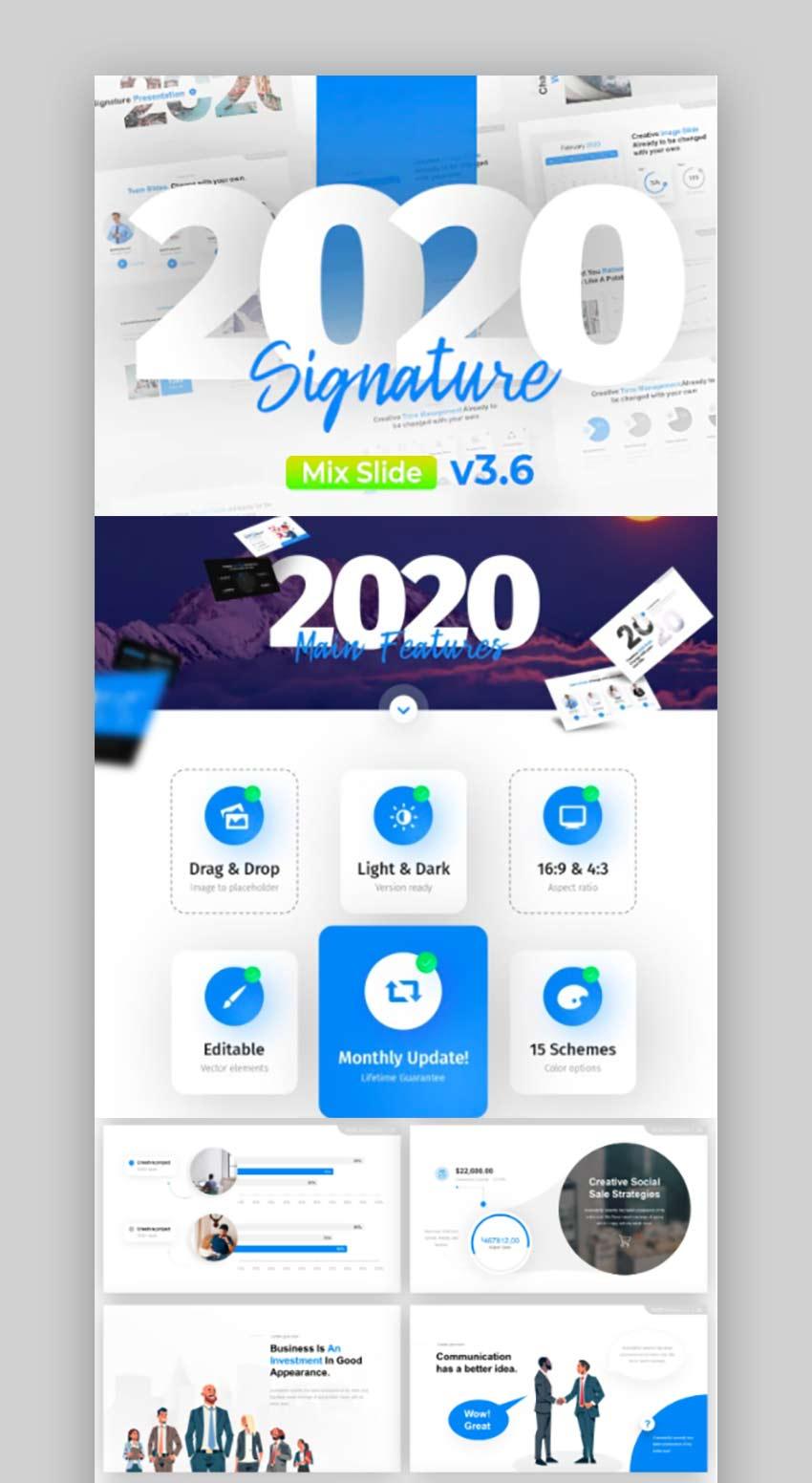 2020 Signature Multipurpose Premium