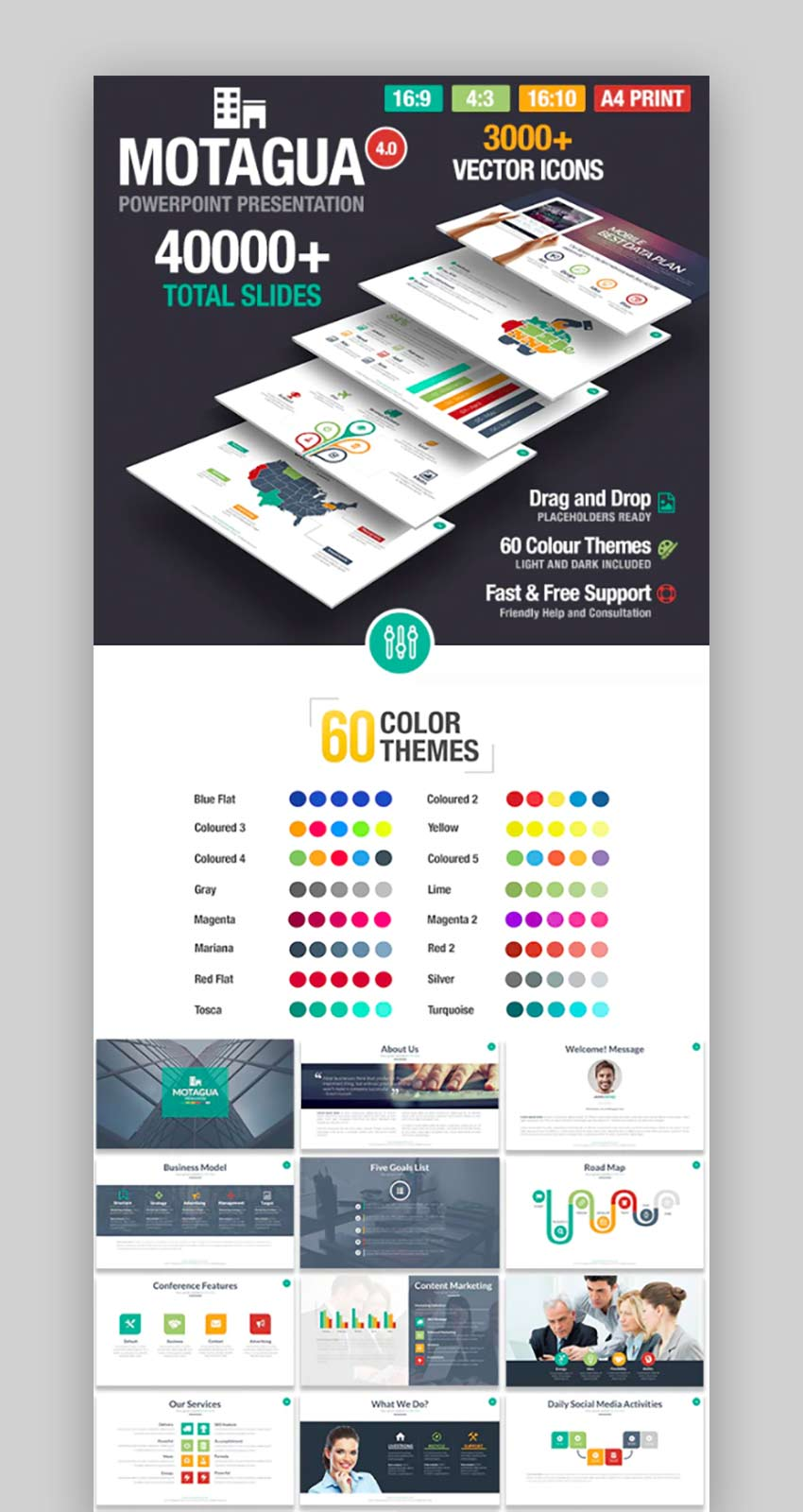 40 Awesome Powerpoint Templates With Cool Ppt Presentation Designs 2020