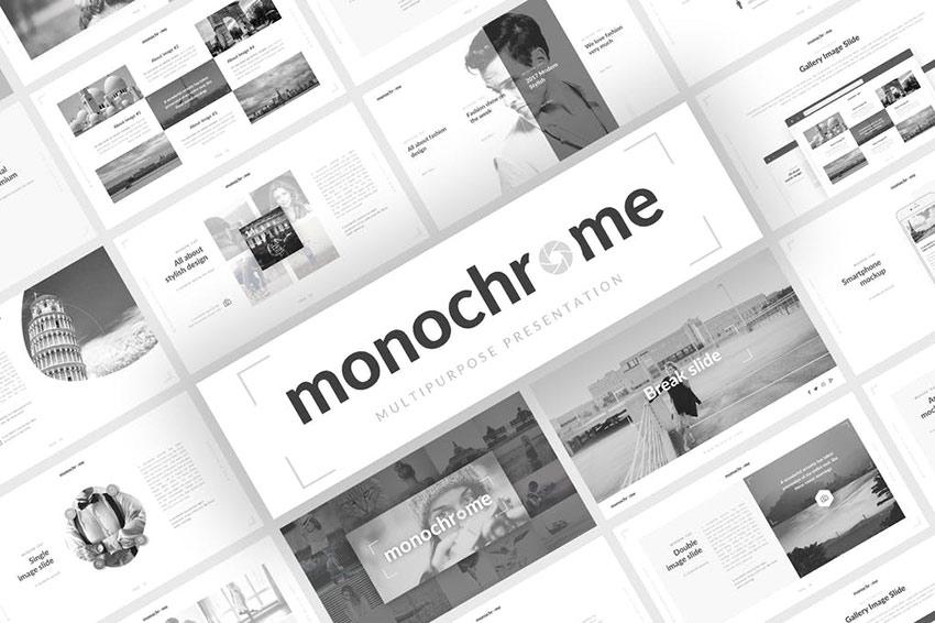 Monochrome Multipurpose Presentation