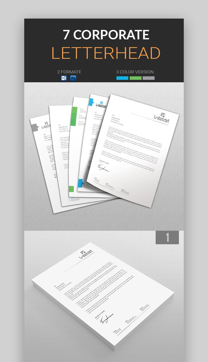 Corporate Letterhead Pack