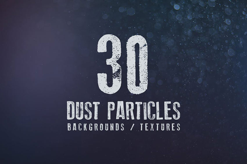 30 Dust Particles Backgrounds and Textures
