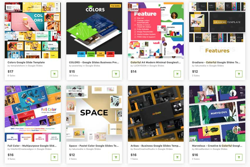 fun themes for Google Slides one at a time