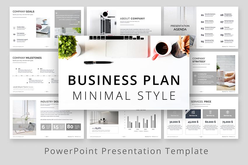 30 Best Business Plan Powerpoint Templates Ppt Presentation Examples 2020