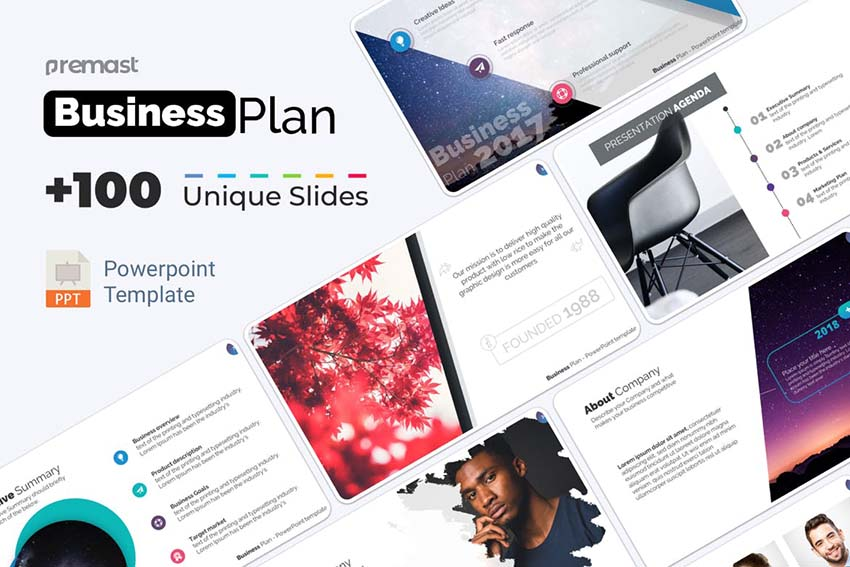 PowerPoint Business Plan Template PPT