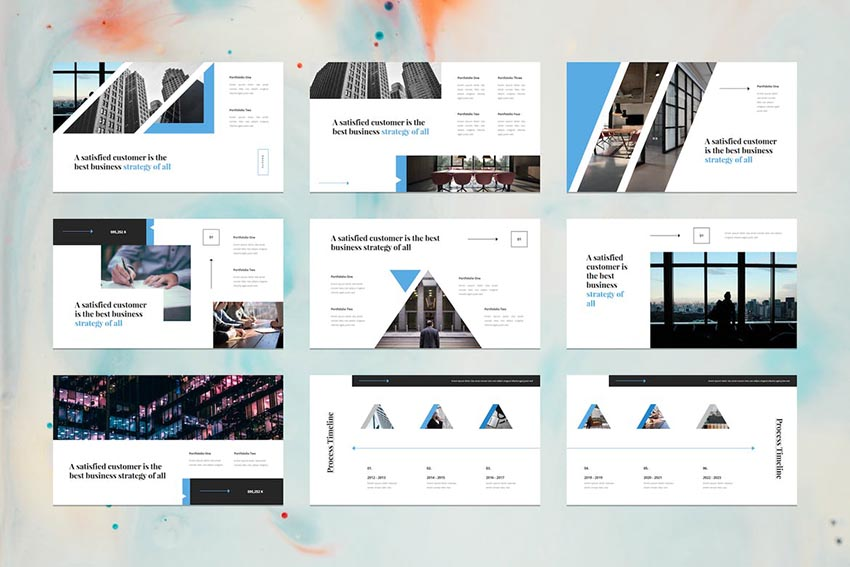 Tera - Business PowerPoint Template