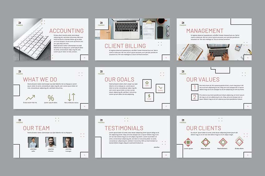 Finance  Accounting PowerPoint Presentation