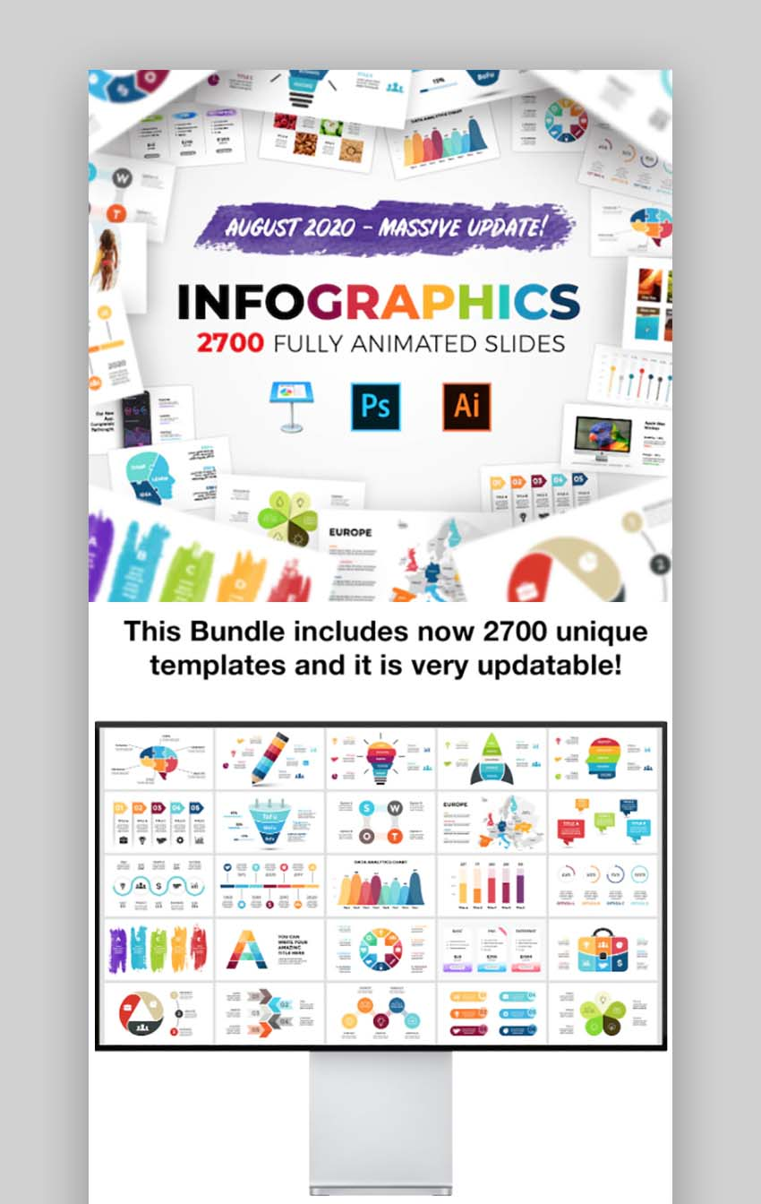Huge Infographics Bundle For Keynote