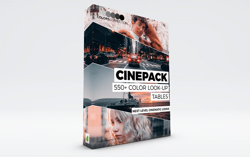 Cinepack - LUT Color Correction Presets